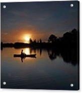 Early Fishing Acrylic Print