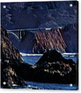 Early Morning At Bixby Creek Bridge Acrylic Print