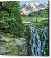 Early Morning At Myrtle Falls Acrylic Print
