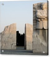 Early Morning At The Martin Luther King Jr Memorial - Washington Dc Acrylic Print by Brendan Reals