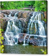 Early Morning At The Upper Falls Acrylic Print