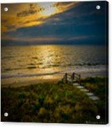 Early Morning Beach Acrylic Print