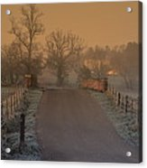 Early Morning Driveway Acrylic Print