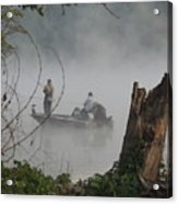 Early Morning Fishing Acrylic Print