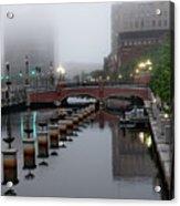Early Morning Fog Acrylic Print
