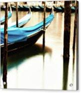 Early Morning Gondolas Acrylic Print