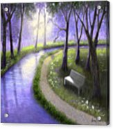 Early Morning In The Park Acrylic Print