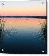Early Morning Lake Acrylic Print