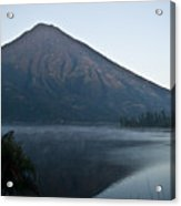 Early Morning Mist Lake Atitlan Guatemala Acrylic Print