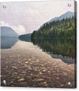 Early Morning On Lake Mcdonald II Acrylic Print