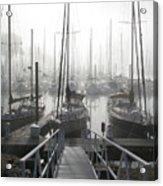 Early Morning On The Docks Acrylic Print