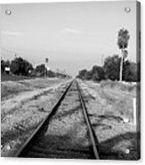 Early Morning On The Rail  Acrylic Print