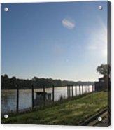 Early Morning On The Savannah River Acrylic Print