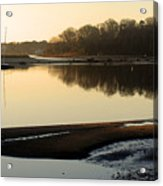 Early Morning Reflections  Acrylic Print