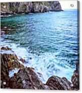 Early Morning Riomaggiore Cinque Terre Italy Acrylic Print