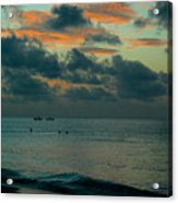 Early Morning Sea Acrylic Print