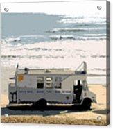 Early Morning Surf Acrylic Print