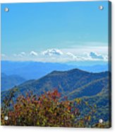 Early Mountain Autumn Acrylic Print