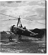 Early Soviet Autogyro, 1932 Acrylic Print