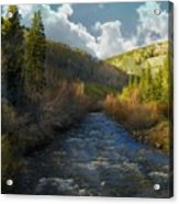 Early Spring Delores River Acrylic Print