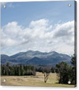 Early Spring In Lake Placid Acrylic Print