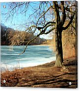Early Spring In The Park Acrylic Print