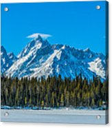 Early Spring In The Tetons Acrylic Print
