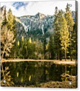 Early Spring Reflections Acrylic Print