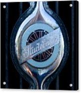 Early Studebaker Grill Emblem Acrylic Print
