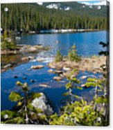 Early Summer At Finch Lake Acrylic Print