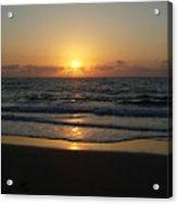 Early Sunrise  Atlantic Ocean Acrylic Print