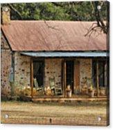 Early Texas Farm House Acrylic Print