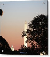 Early Washington Mornings - Cpl Block - For Liberty Acrylic Print