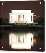 Early Washington Mornings - Lincoln Reflecting Acrylic Print
