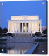 Early Washington Mornings - The Lincoln Memorial Acrylic Print