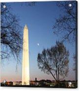 Early Washington Mornings - The Washington Monument Acrylic Print
