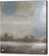 Early Winter Mist Acrylic Print