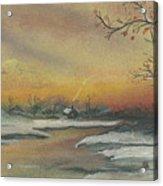 Early Winter Acrylic Print