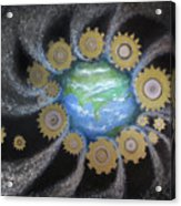 Earth #1 - You Are Here Acrylic Print