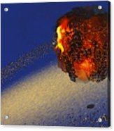 Earth 2012 Acrylic Print by Corey Ford