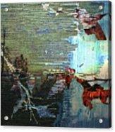 Earth Abstract Acrylic Print