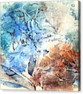Earth And Ice Acrylic Print