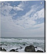 Earth And Sea And Sky In April Acrylic Print