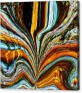 Earth Bloom Acrylic Print