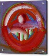 Earth Button Acrylic Print