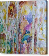 Earth Changes and so do I Acrylic Print