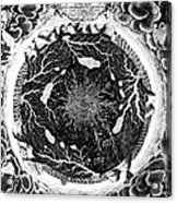 Earth: Cross-section, 1664 Acrylic Print