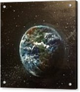 Earth From Above  Acrylic Print
