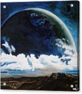 Earth From Space Acrylic Print