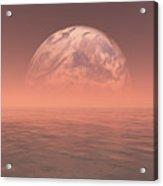 Earth Acrylic Print